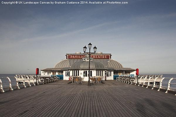 Cromer Pier, Norfolk Canvas print by UK Landscape Canvas by Graham Custance