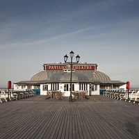 Buy canvas prints of Cromer Pier, Norfolk by UK Landscape Canvas by Graham Custance