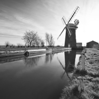 Buy canvas prints of Horsey Mill, Norfolk by UK Landscape Canvas by Graham Custance