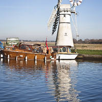 Buy canvas prints of Thurne Mill by UK Landscape Canvas by Graham Custance