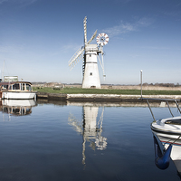 Buy canvas prints of Thurne Mill, Norfolk by UK Landscape Canvas by Graham Custance