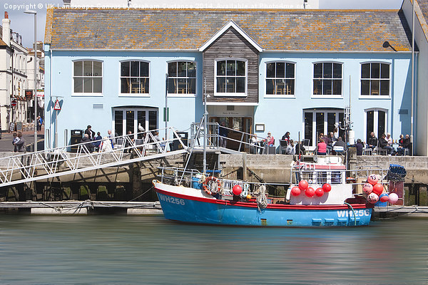 Weymouth Harbour Canvas print by UK Landscape Canvas by Graham Custance
