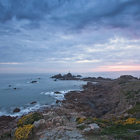 Buy canvas prints of Corbiere Lighthouse by UK Landscape Canvas by Graham Custance