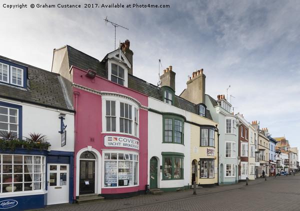 Weymouth Canvas print by Graham Custance