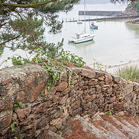 Buy canvas prints of St Brelade's Bay, Jersey by Graham Custance