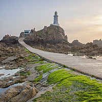 Buy canvas prints of Corbiere Lighthouse by Graham Custance