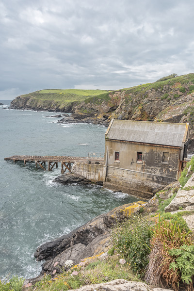 Lizard Point Lifeboat Station Canvas print by Graham Custance