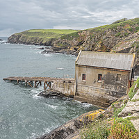 Buy canvas prints of Lizard Point Lifeboat Station by Graham Custance