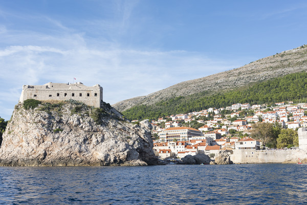 Dubrovnik Old Town Canvas print by Graham Custance