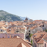 Buy canvas prints of Dubrovnik Old Town by Graham Custance