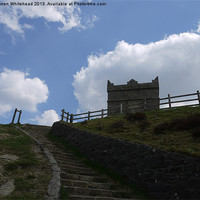 Buy canvas prints of Steps to the Pike by Darren Whitehead