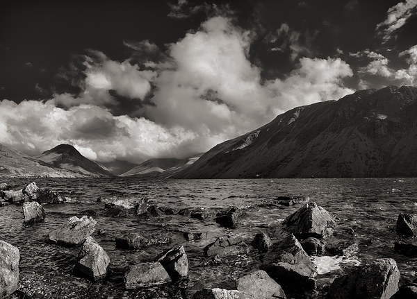 Wastwater Canvas print by Graham Moore