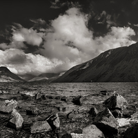 Buy canvas prints of Wastwater by Graham Moore