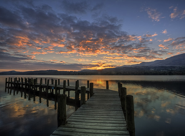 Coniston Water Canvas print by Graham Moore