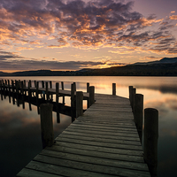 Buy canvas prints of Coniston Water by Graham Moore