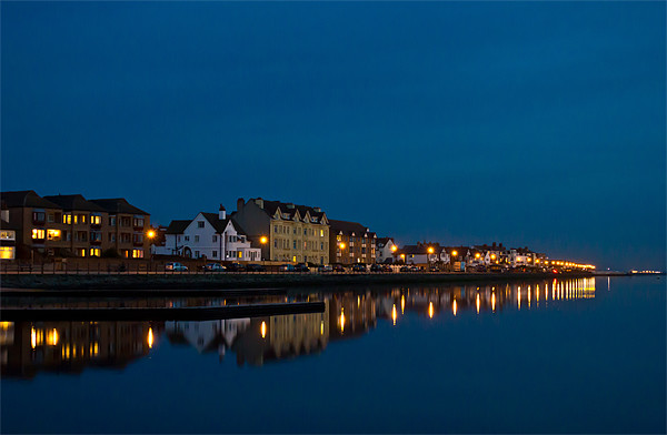 West Kirby reflected Canvas Print by Paul Farrell Photography