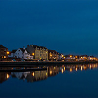 Buy canvas prints of West Kirby reflected by Paul Farrell Photography