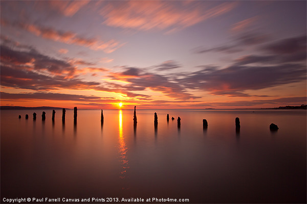 The tide is turning Canvas print by Paul Farrell Photography