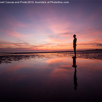 Buy canvas prints of Crosby afterglow by Paul Farrell Photography