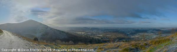 West Malvern Panorama Canvas Print by Dave Brierley