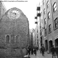 Buy canvas prints of Winchester Palace, London by David Wilkins