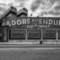Buy canvas prints of Adore and Endure each other! by Jason Green