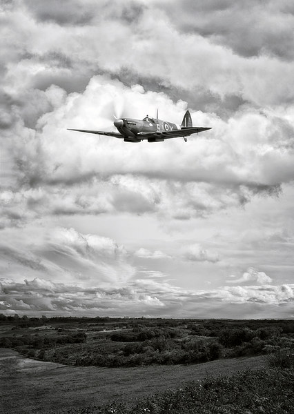 Spitfire Canvas print by Jason Green