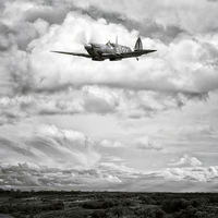 Buy canvas prints of Spitfire by Jason Green