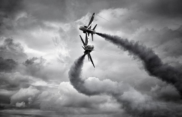 Red Arrows Canvas Print by Jason Green