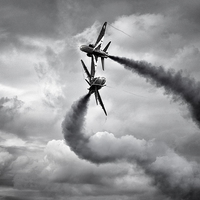 Buy canvas prints of Red Arrows by Jason Green