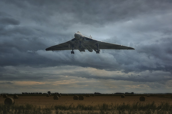 Vulcan Bomber Canvas Print by Jason Green