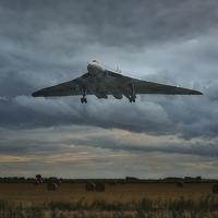 Buy canvas prints of  Vulcan Bomber by Jason Green