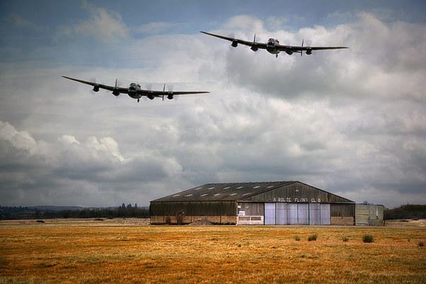Lancaster Bomber  Canvas Print by Jason Green