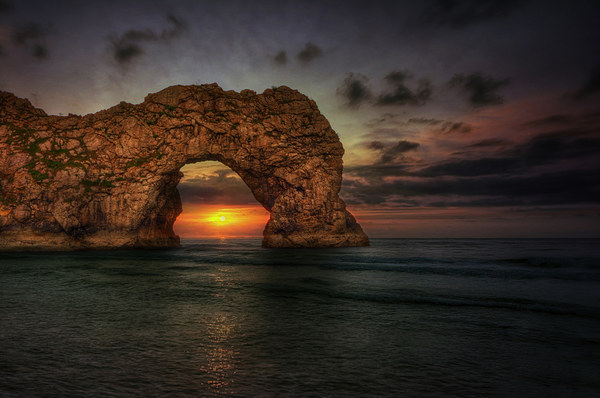 Durdle Door Canvas Print by Jason Green