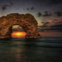 Buy canvas prints of Durdle Door by Jason Green