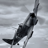 Buy canvas prints of BBMF Spitfire by Jason Green