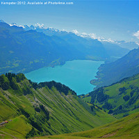 Buy canvas prints of Top of Brienz by William Kempster