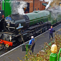 Buy canvas prints of A1 Peppercorn TORNADO 60163 by William Kempster