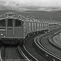 Buy canvas prints of Isle Of Wight ex London Undergroud Class 483 by William Kempster