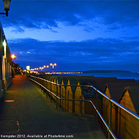 Buy canvas prints of Shanklin, Isle Of Wight by William Kempster
