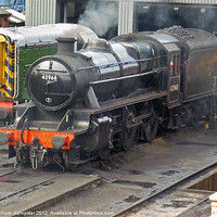 Buy canvas prints of LMSR Stanier 5MT No.42968 by William Kempster