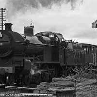 Buy canvas prints of S&DJR 2-8-0 7F NO.88 by William Kempster
