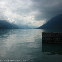 Buy canvas prints of Lake Brienz by William Kempster