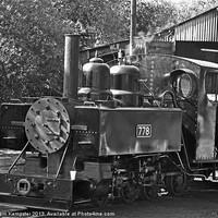 Buy canvas prints of 778 Baldwin War Department locomotive by William Kempster