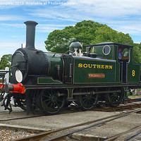 Buy canvas prints of A1X Terrier Class No.W8 Freshwater by William Kempster