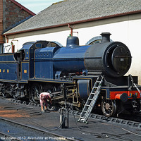 Buy canvas prints of SDJR 7F Class No 88 by William Kempster