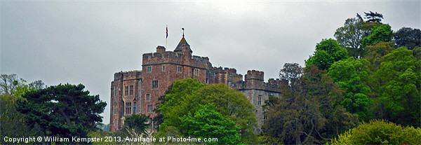 Dunster Castle Canvas Print by William Kempster