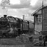 Buy canvas prints of Southern Built 8F No 48624 by William Kempster