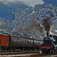 Buy canvas prints of BR Standard 2 Mogul No 78019 by William Kempster