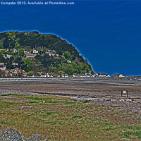 Buy canvas prints of Minehead Seaside by William Kempster